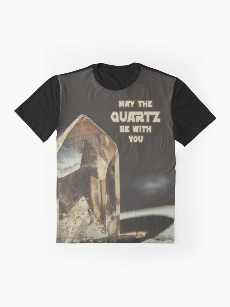 Alternate view of May The Quartz Be With You Graphic T-Shirt