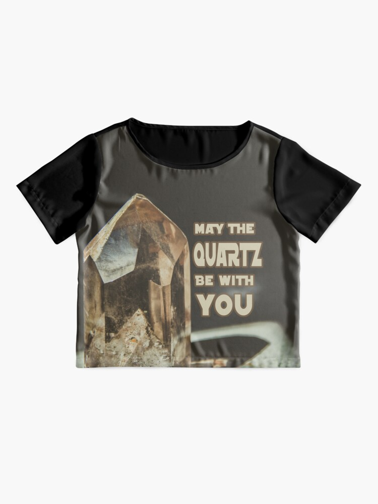 Alternate view of May The Quartz Be With You Chiffon Top