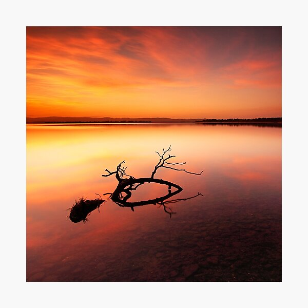 Loch Leven Sunset - Perthshire Photographic Print