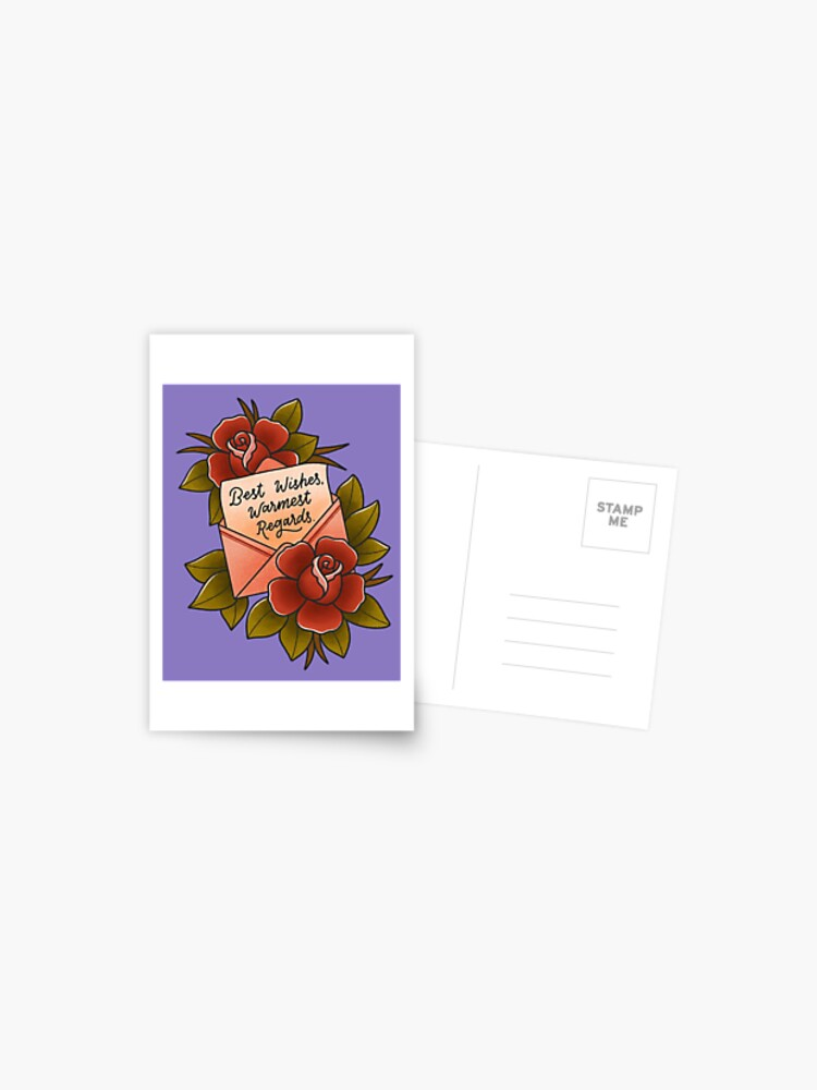 Best of David Rose Postcard
