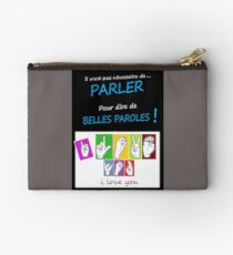 i LOVE YOU (in sign language) Zipper Pouch