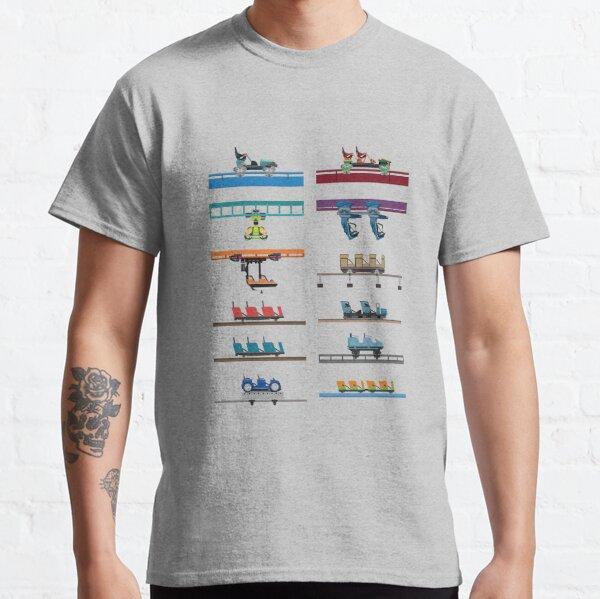 Kings Island Coaster Cars Design Classic T-Shirt
