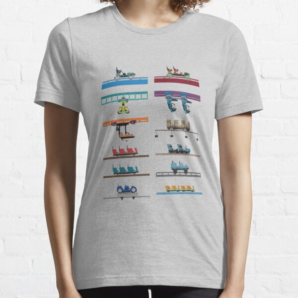 Kings Island Coaster Cars Design Essential T-Shirt