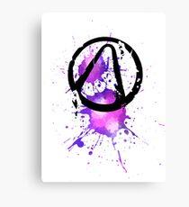 vault symbol iridium Canvas Print