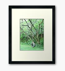 Wonder If My Rope's Still Hangin' To The Tree Framed Print