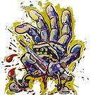 Gonzo Hand  by john michael  barone