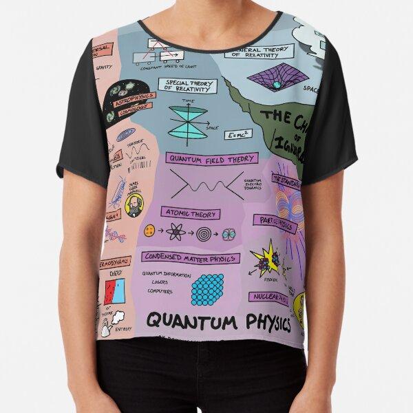 The Map of Physics Chiffon Top