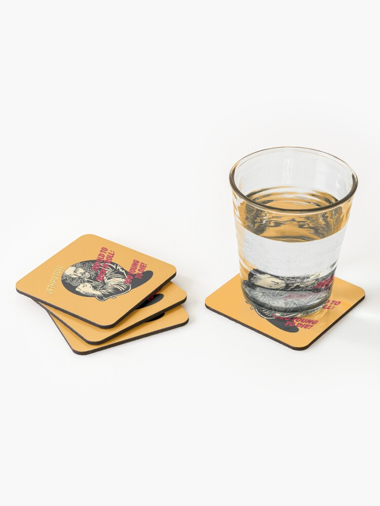 Alternate view of Jethro Tull - Too Old To Rock 'N' Roll: Too Young To Die! Coasters (Set of 4)