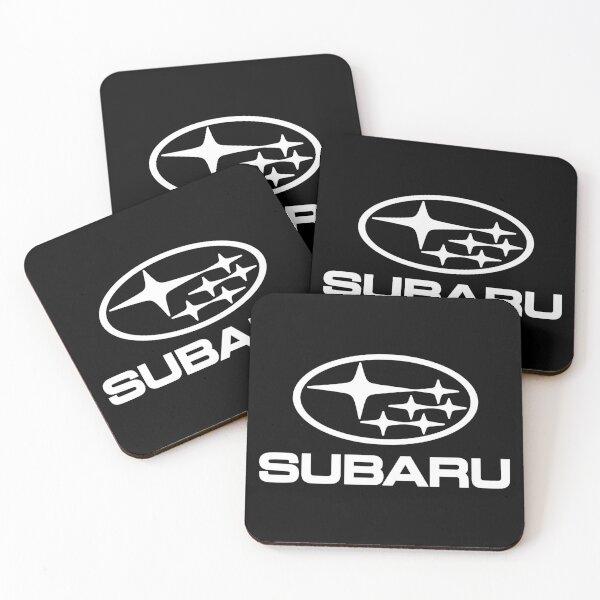 SUBARU-WHITE Coasters (Set of 4)