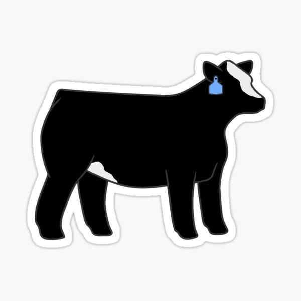CLUB CALF SHOW STEER COW SILHOUETTE