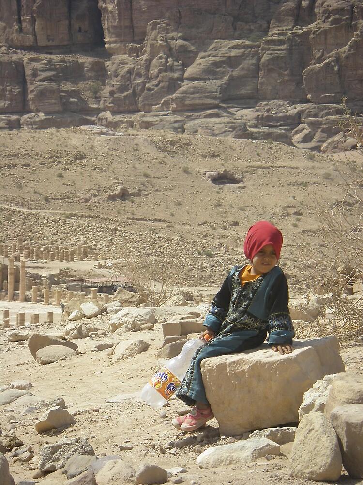 Young Bedouin Girl - Petra, Jordan by embrumby