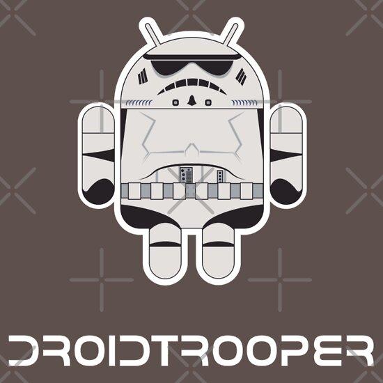TShirtGifter presents: Droidtrooper