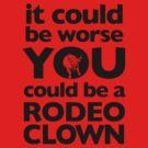 Rodeo Clown by Zach Wong