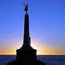 Aberystwyth War Memorial - Wales by Bev Pascoe