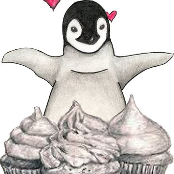 For the penguin and cupcake lover by ShaneWaller