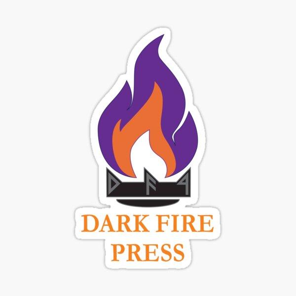 Dark Fire Press Sticker