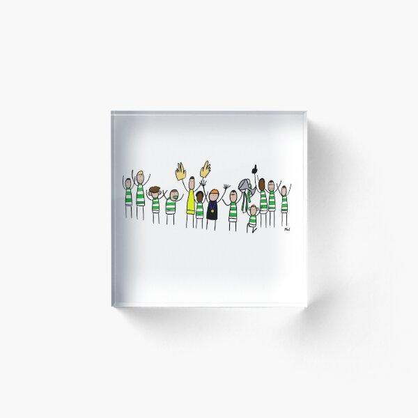 Celtic 2019 Betfred Cup Winners Acrylic Block