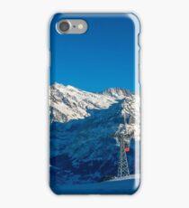Faulhorn Winter Scene iPhone Case/Skin