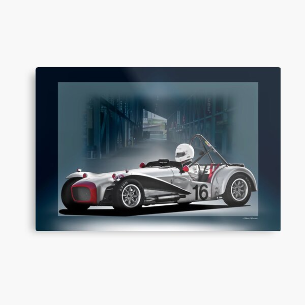 1964 Lotus Seven Roadster Metal Print