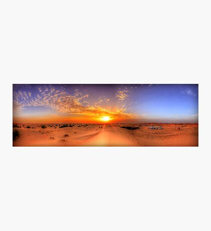 Dubai Desert HDR Panorama Photographic Print