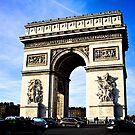 Arc de Triomphe by Daniel Chang