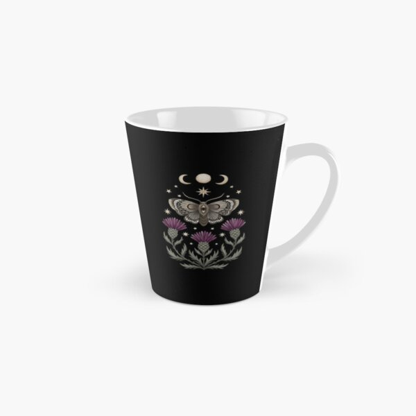 Thistle and moth Tall Mug