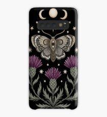 Chardon et papillon Coque et skin adhésive Samsung Galaxy