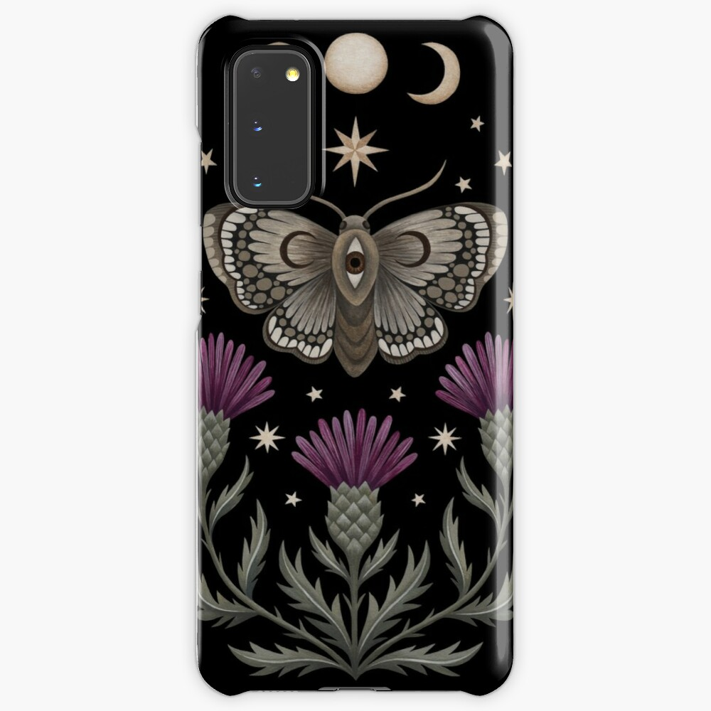Thistle and moth Case & Skin for Samsung Galaxy
