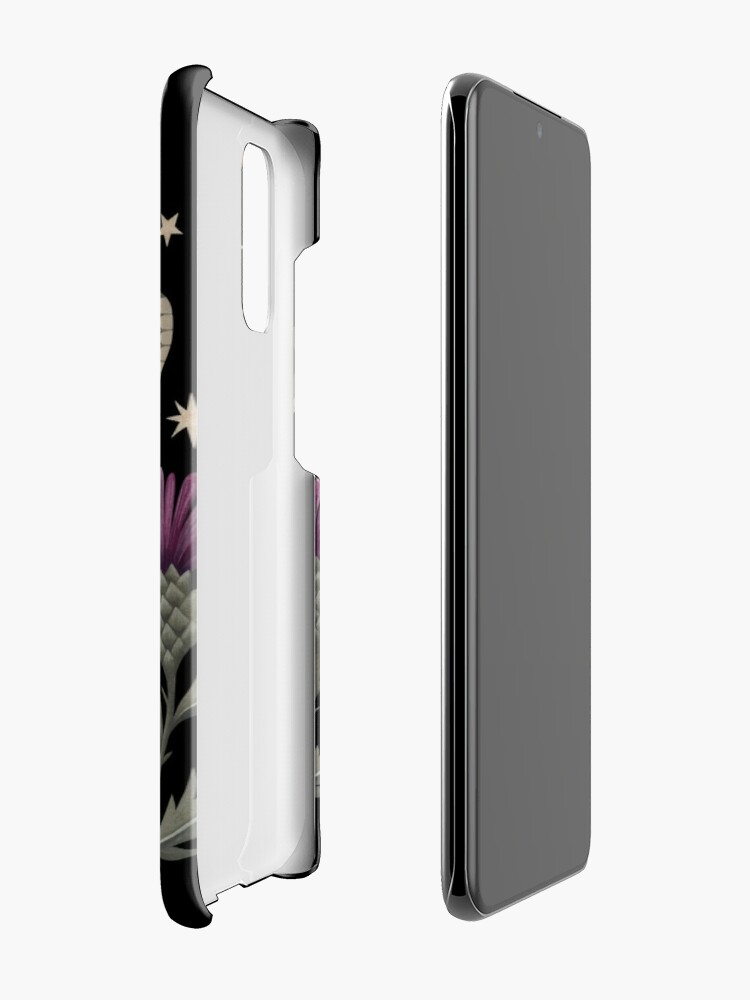 Alternate view of Thistle and moth Case & Skin for Samsung Galaxy