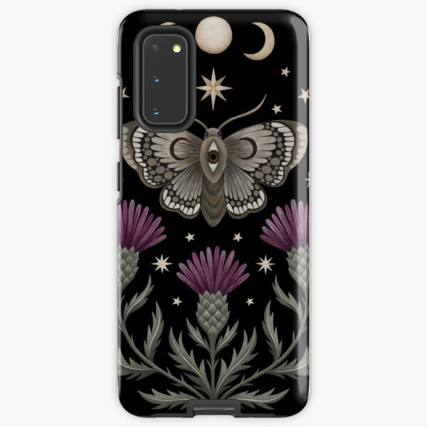 Thistle and moth Samsung Galaxy Tough Case