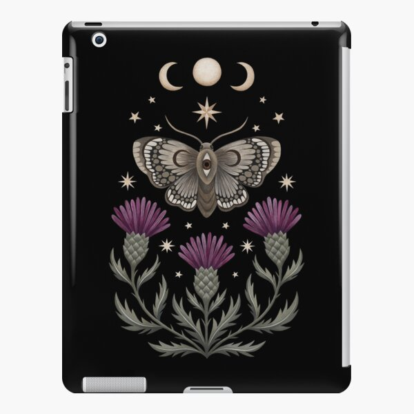 Thistle and moth iPad Snap Case