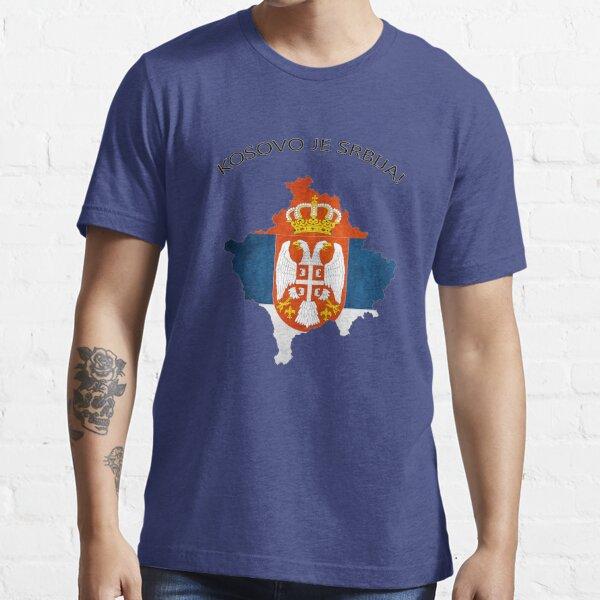 Kosovo ist Serbien / Kosovo je Srbija Essential T-Shirt