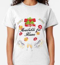 Happy new year 2020 Emoji JoyPixels Classic T-Shirt