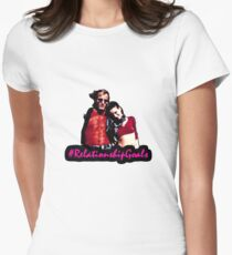 Mickey & Mallory Knox #RelationshipGoals Women's Fitted T-Shirt