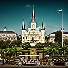 Jackson Square, New Orleans by Natalie Parker