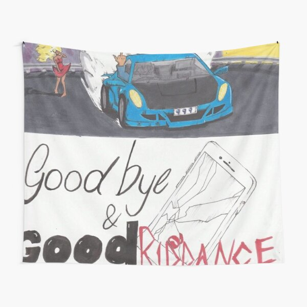 Good riddance fan cover Juice Tapestry