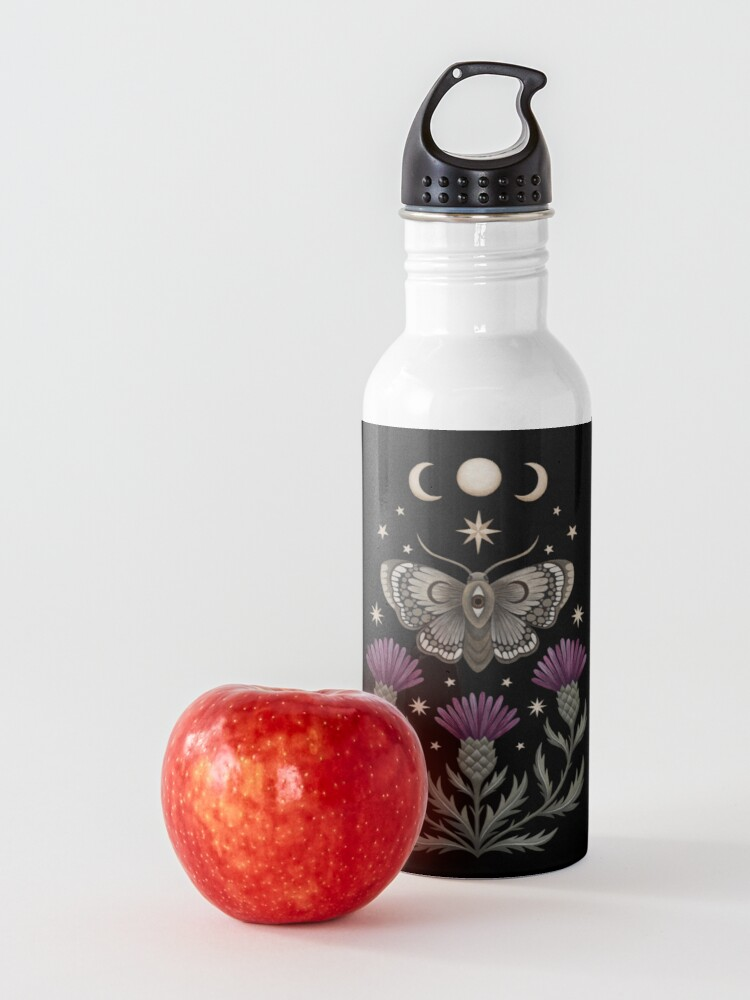 Alternate view of Thistle and moth Water Bottle