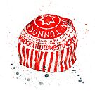 Tunnock's tea cake by Susan Mitchell