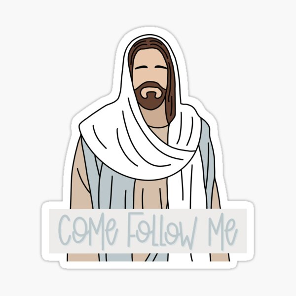 Come Follow Me LDS Sticker