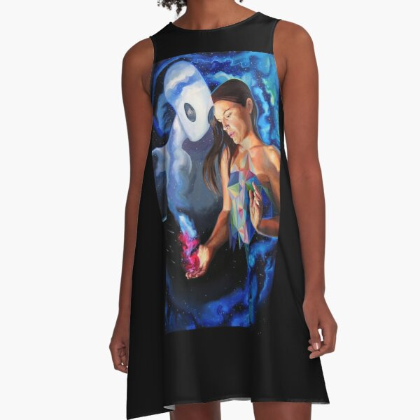 Quantum Healing Visions A-Line Dress