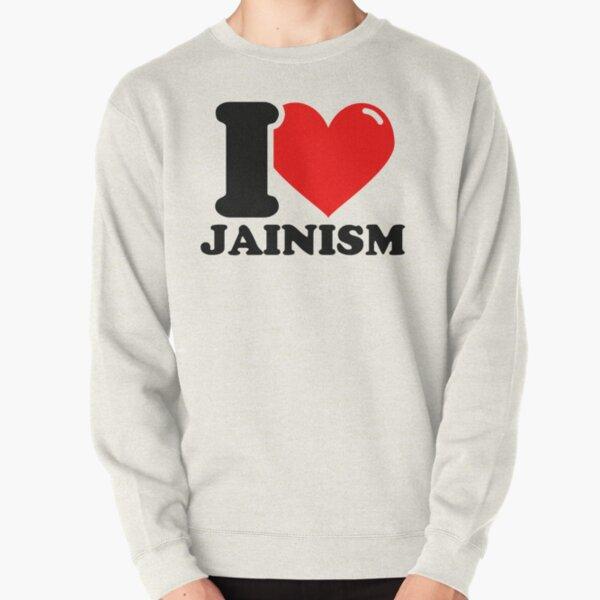 I Love Jainism Pullover Sweatshirt