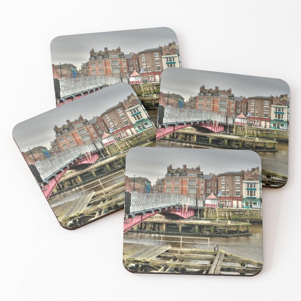 Whitby swing bridge Coasters (Set of 4)