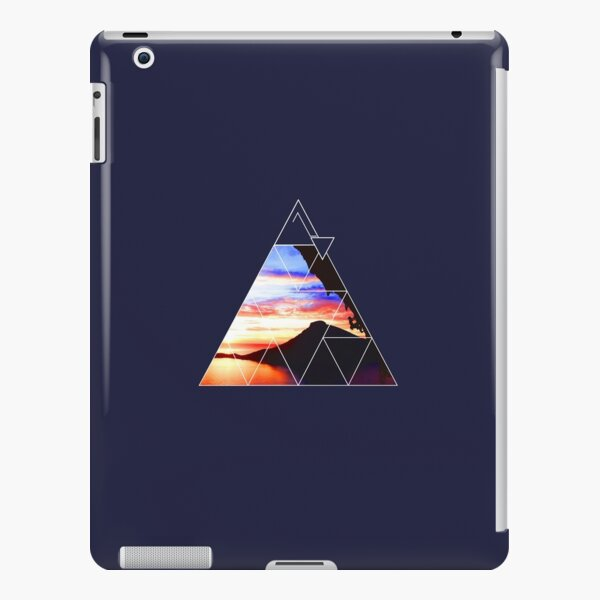 Klettern mit Sonnenuntergang iPad – Leichte Hülle