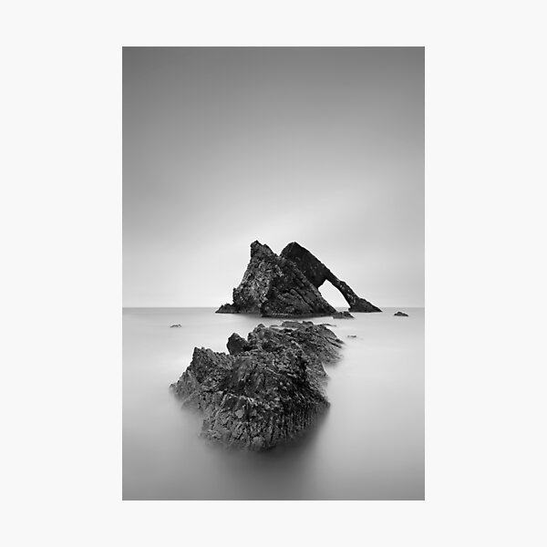 Seascape Rocks Photographic Print