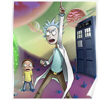 Rick and Morty Doctor Who Poster