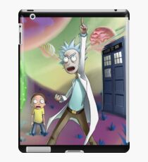 Rick and Morty Doctor Who iPad Case/Skin