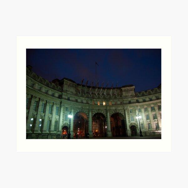 Admiralty Arch at Dawn Art Print