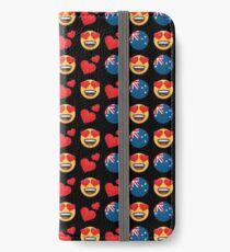Love Australian Emoji JoyPixels Travel to Australia iPhone Wallet/Case/Skin