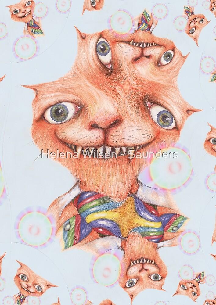 The Cheshire Cat 1 by Helena Wilsen - Saunders