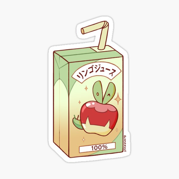 Applin Apple Juice Sticker